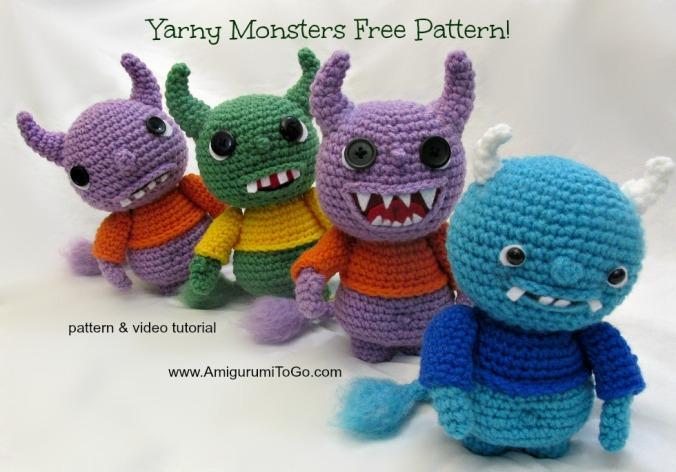 free-amigurumi-monster-pattern