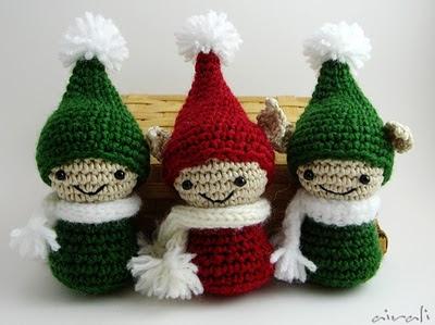 amigurumi elves - elfi folletti amigurumi