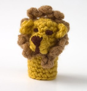 Lion-Finger-Puppet