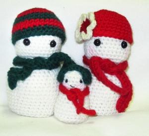 Snowman Amigurumi2